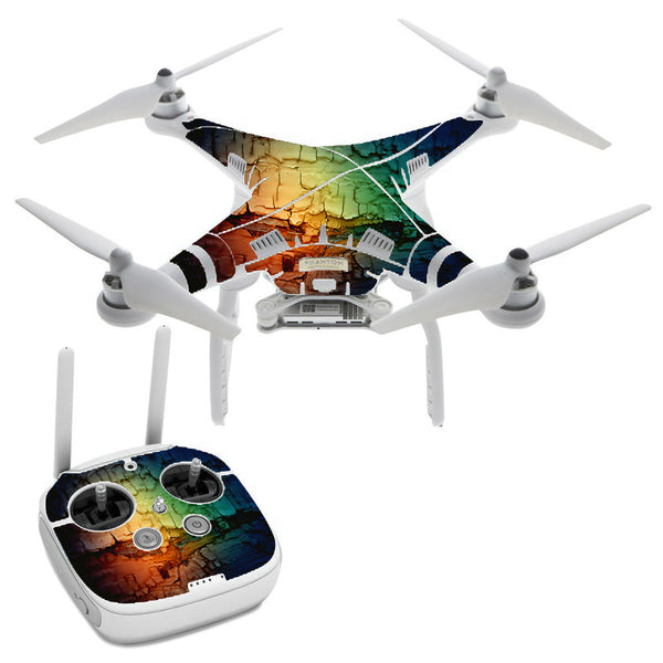 Multicolor Rock DJI Phantom 3 Professional Skin
