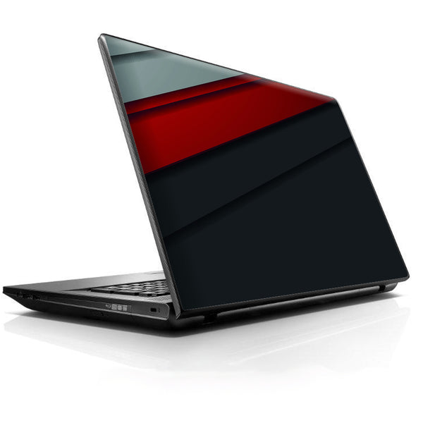Modern Patterns Red Universal 13 to 16 inch wide laptop Skin