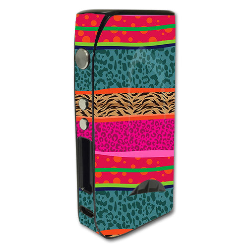 Leopard Zebra Patterns Colorful Pioneer4You iPV5 200w Skin