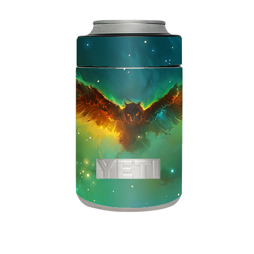 Flying Owl In Clouds Yeti Rambler Colster Skin