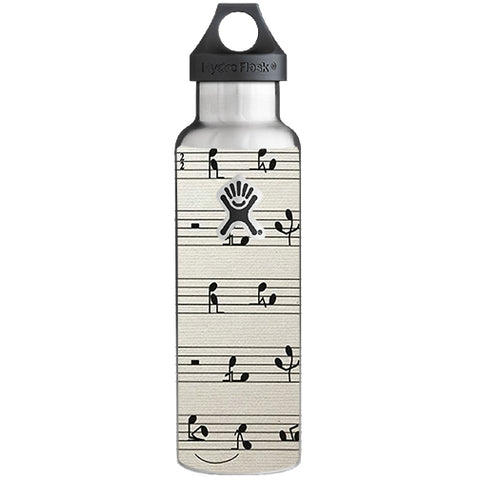 Music Notes Song Page Hydroflask 21oz Skin