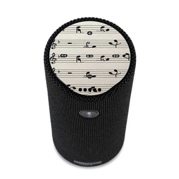 Music Notes Song Page Amazon Tap Skin