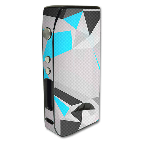 Baby Blue Grey Glass Design Pioneer4You iPV5 200w Skin