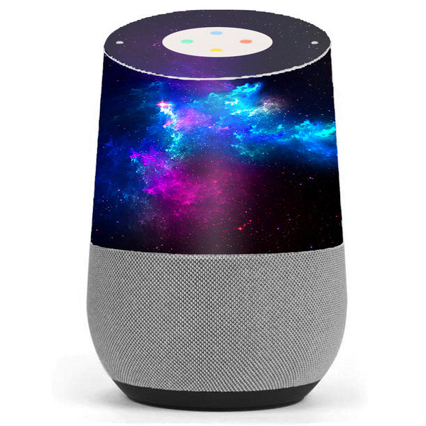 Galaxy Space Gasses Google Home Skin