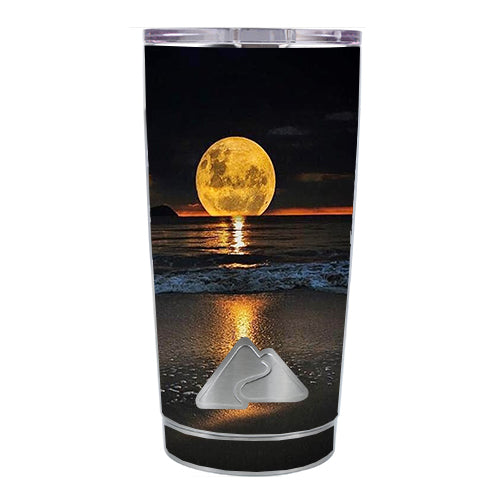 Full Moon And Sea Ozark Trail 20oz Tumbler Skin