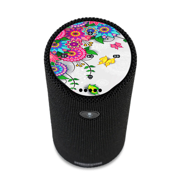 Flowers Colorful Design Amazon Tap Skin