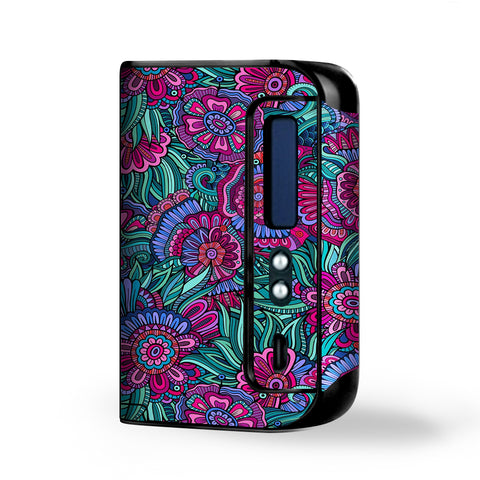 Floral Flowers Retro Smok Osub King Skin