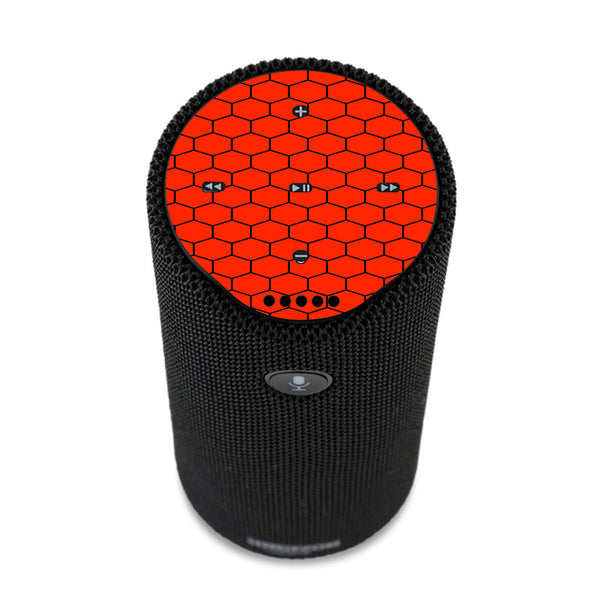 Red Honeycomb Ocatagon Amazon Tap Skin