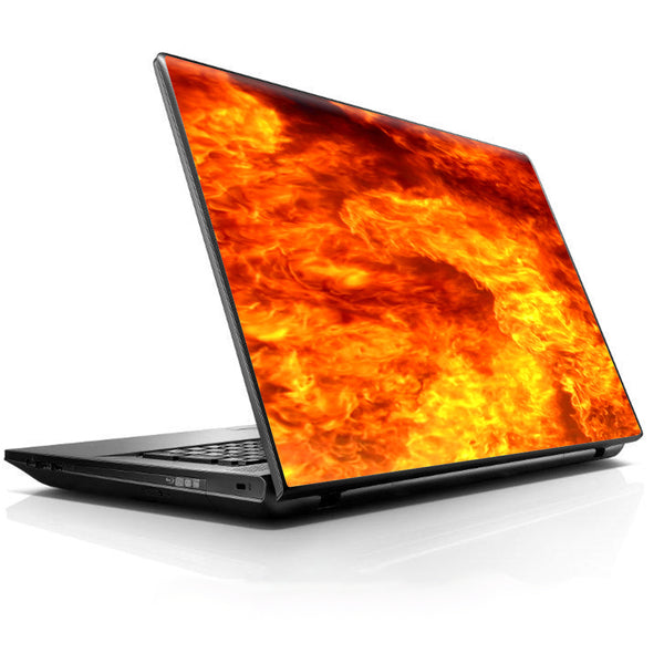 True Fire Flames Universal 13 to 16 inch wide laptop Skin
