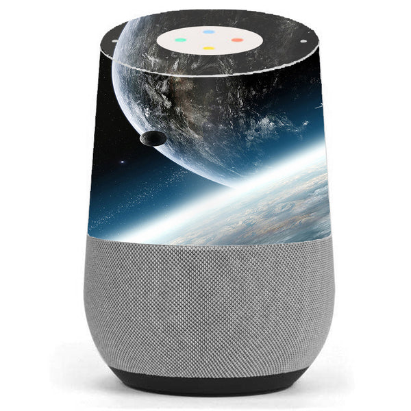 Earth Space Google Home Skin