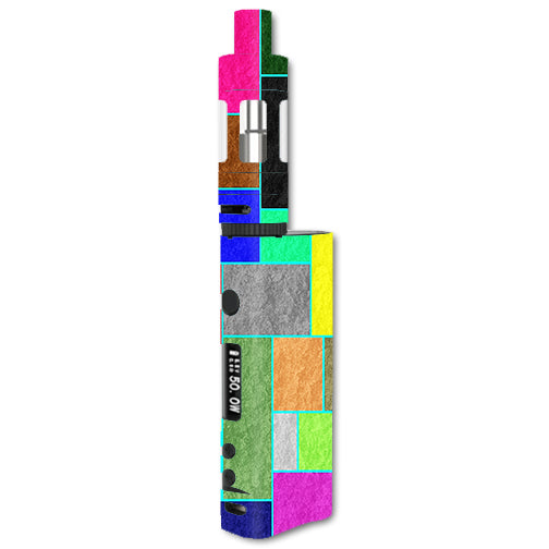 Colorful Squares Kangertech Subox Nano Skin