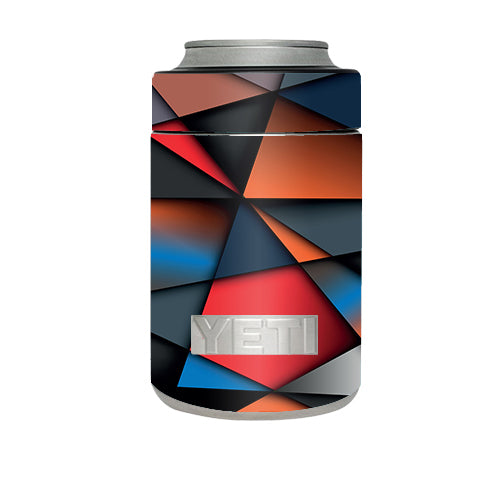 Colorful Shapes Yeti Rambler Colster Skin