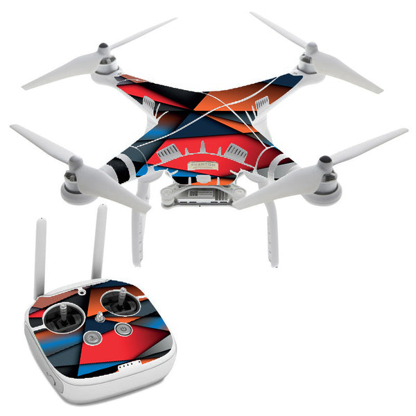 Colorful Shapes DJI Phantom 3 Professional Skin
