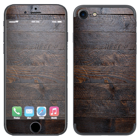 Wooden Wall Pattern Apple iPhone 7 or iPhone 8 Skin