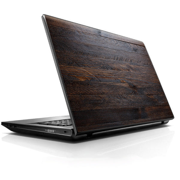 Wooden Wall Pattern Universal 13 to 16 inch wide laptop Skin