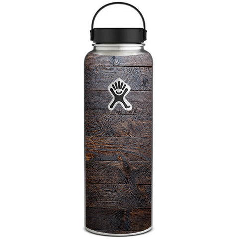 Wooden Wall Pattern Hydroflask 40oz Wide Mouth Skin