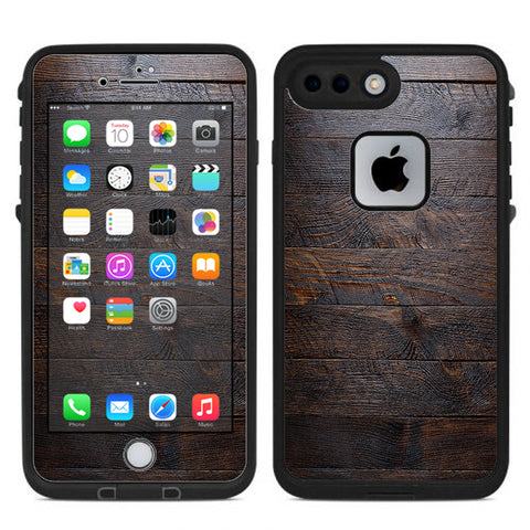 Wooden Wall Pattern Lifeproof Fre iPhone 7 Plus or iPhone 8 Plus Skin