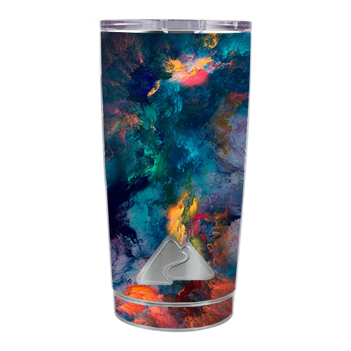 Color Storm Watercolors Ozark Trail 20oz Tumbler Skin