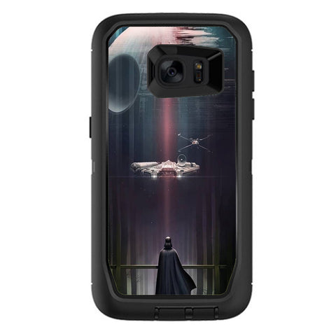 Darth At Death Star Otterbox Defender Samsung Galaxy S7 Edge Skin