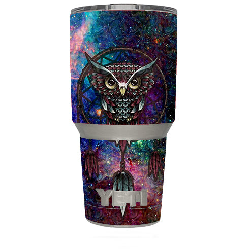 Dreamcatcher Owl In Color Yeti 30oz Rambler Tumbler Skin