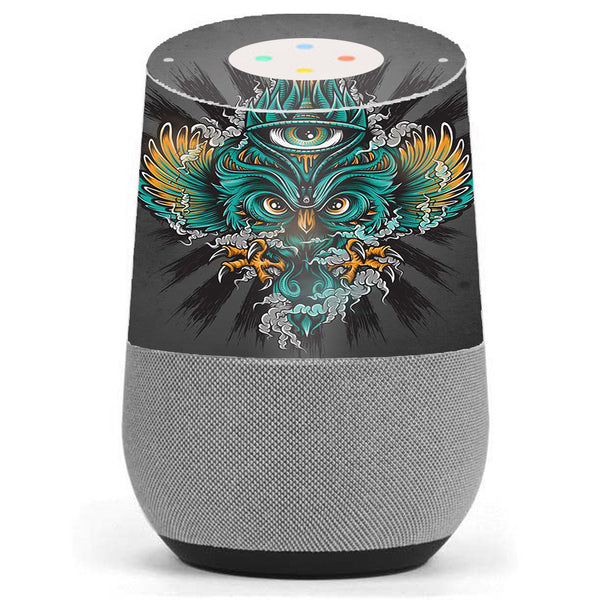 Owl Eye Tattoo Art Google Home Skin