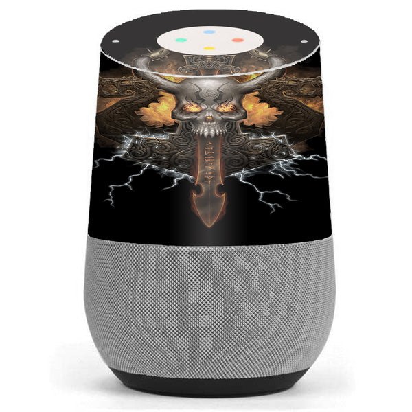 Thunder God Logo Google Home Skin