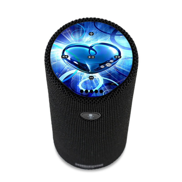 Glowing Heart Amazon Tap Skin