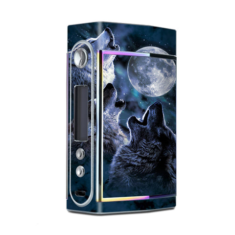 Howling Wolves At Moon Too VooPoo Skin