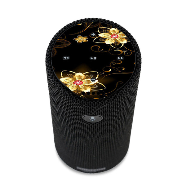 Glowing Flowers Abstract Amazon Tap Skin