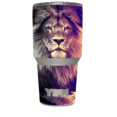 Proud Lion, King Of The Pride Yeti 30oz Rambler Tumbler Skin