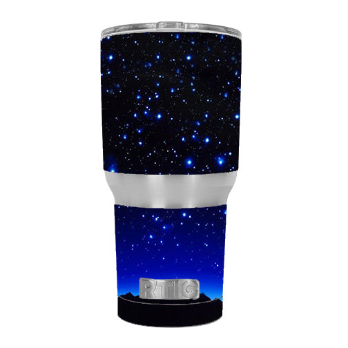 Stars Over Glowing Sky RTIC 30oz Tumbler Skin