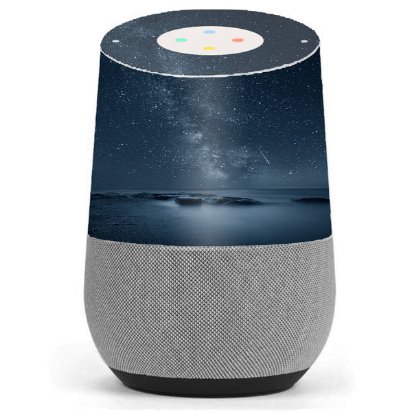 Reflecting Infinity Northern Lights Google Home Skin
