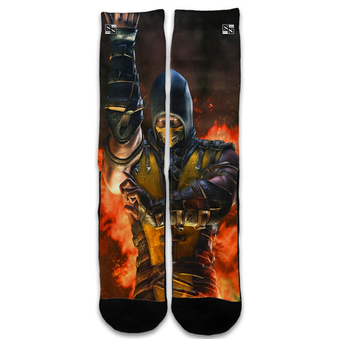 Scorpion Fighter Universal Socks