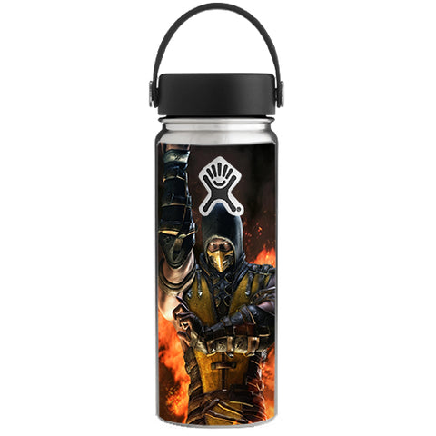 Scorpion Fighter Hydroflask 18oz Wide Mouth Skin