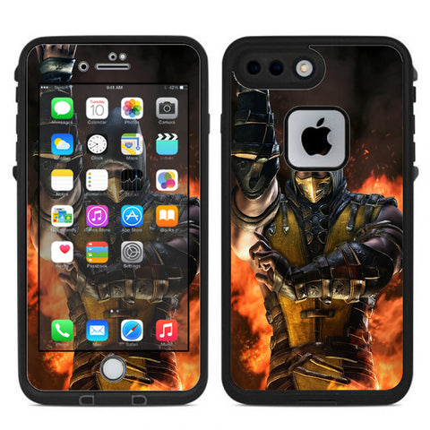 Scorpion Fighter Lifeproof Fre iPhone 7 Plus or iPhone 8 Plus Skin