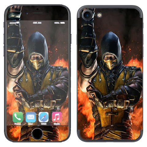Scorpion Fighter Apple iPhone 7 or iPhone 8 Skin