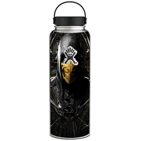 Scorpion Ninja Masked Hydroflask 40oz Wide Mouth Skin
