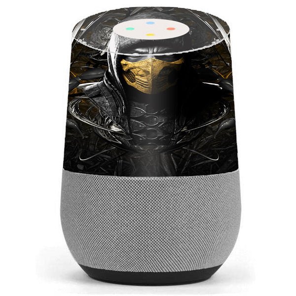 Scorpion Ninja Masked Google Home Skin