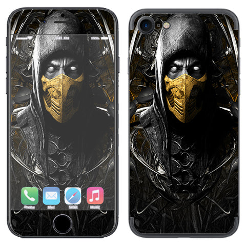 Scorpion Ninja Masked Apple iPhone 7 or iPhone 8 Skin