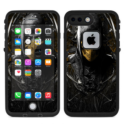 Scorpion Ninja Masked Lifeproof Fre iPhone 7 Plus or iPhone 8 Plus Skin