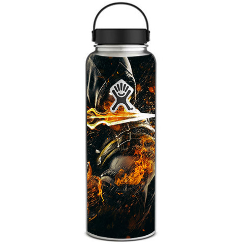 Scorpion With Flaming Sword Hydroflask 40oz Wide Mouth Skin