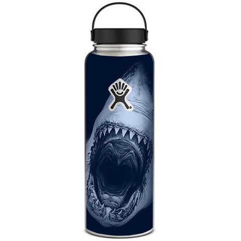 Shark Attack Hydroflask 40oz Wide Mouth Skin