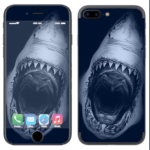 Shark Attack Apple  iPhone 7+ Plus / iPhone 8+ Plus Skin