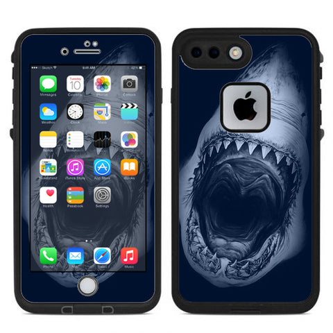 Shark Attack Lifeproof Fre iPhone 7 Plus or iPhone 8 Plus Skin