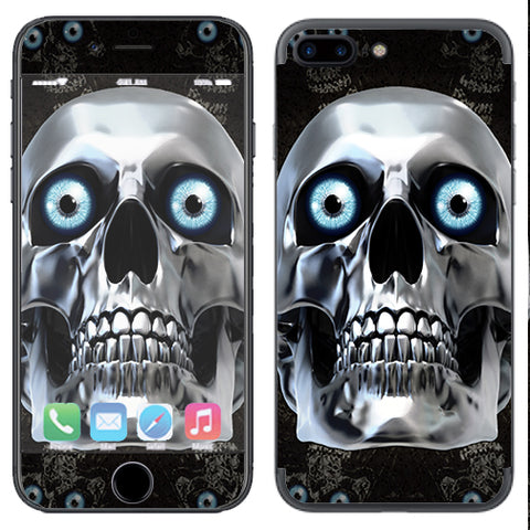 Skull King Love, Tattoo Art Apple  iPhone 7+ Plus / iPhone 8+ Plus Skin