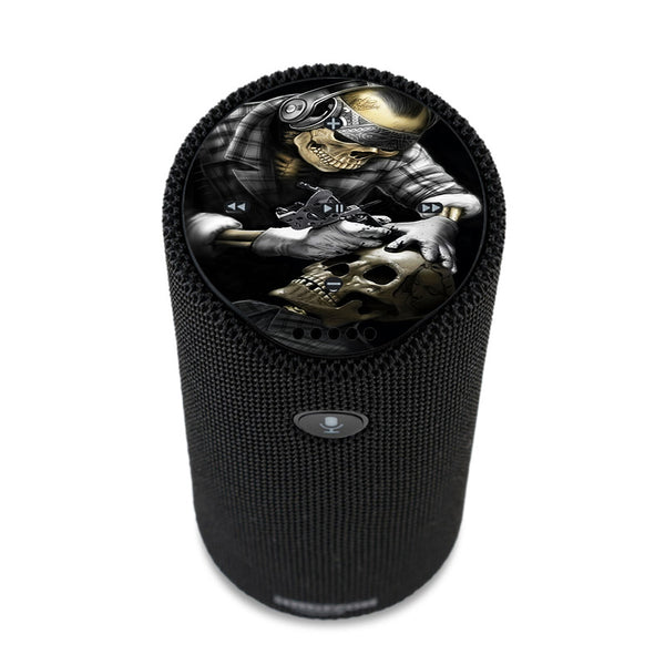 Skeleton Tattooer, Skull Tattooed Amazon Tap Skin