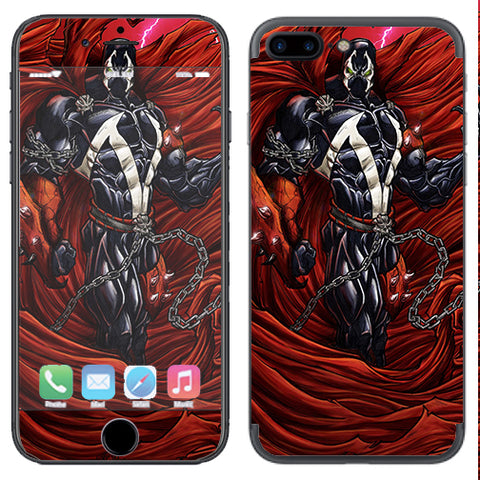 Comic Book Superhero Apple  iPhone 7+ Plus / iPhone 8+ Plus Skin