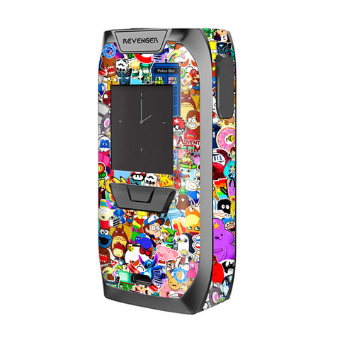 Sticker Collage,Sticker Pack Vaporesso Revenger Skin