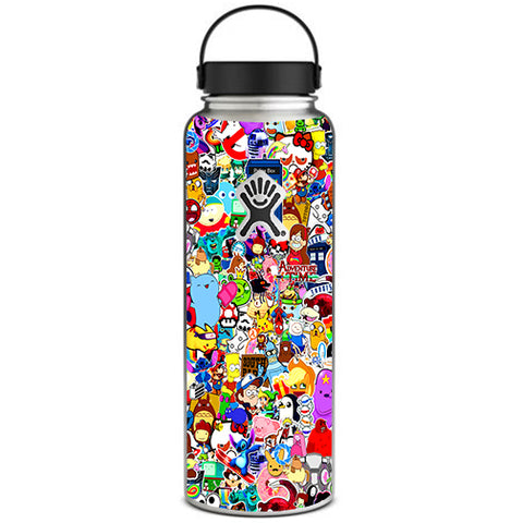 Sticker Collage,Sticker Pack Hydroflask 40oz Wide Mouth Skin