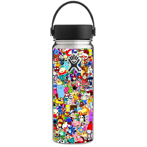 Sticker Collage,Sticker Pack Hydroflask 18oz Wide Mouth Skin